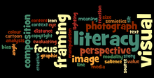 wordle of visual literacy